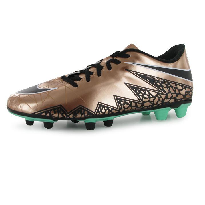 official photos 72a9d 3453a Nike Hypervenom Phade II FG Football Boots Gold