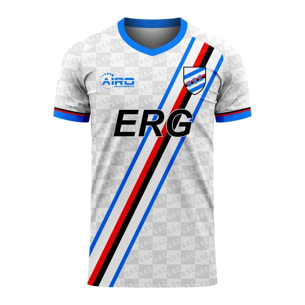 Sampdoria 2020-2021 Away Concept Football Kit (Airo)