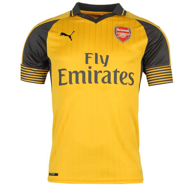 quality design 3ed2c 5c0e2 2016-2017 Arsenal Puma Away Football Shirt (Big Sizes)
