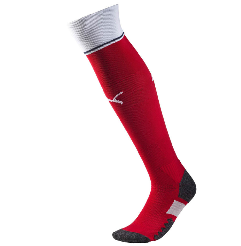 100% high quality official images wholesale dealer 2016-2017 Arsenal Home Football Socks Red