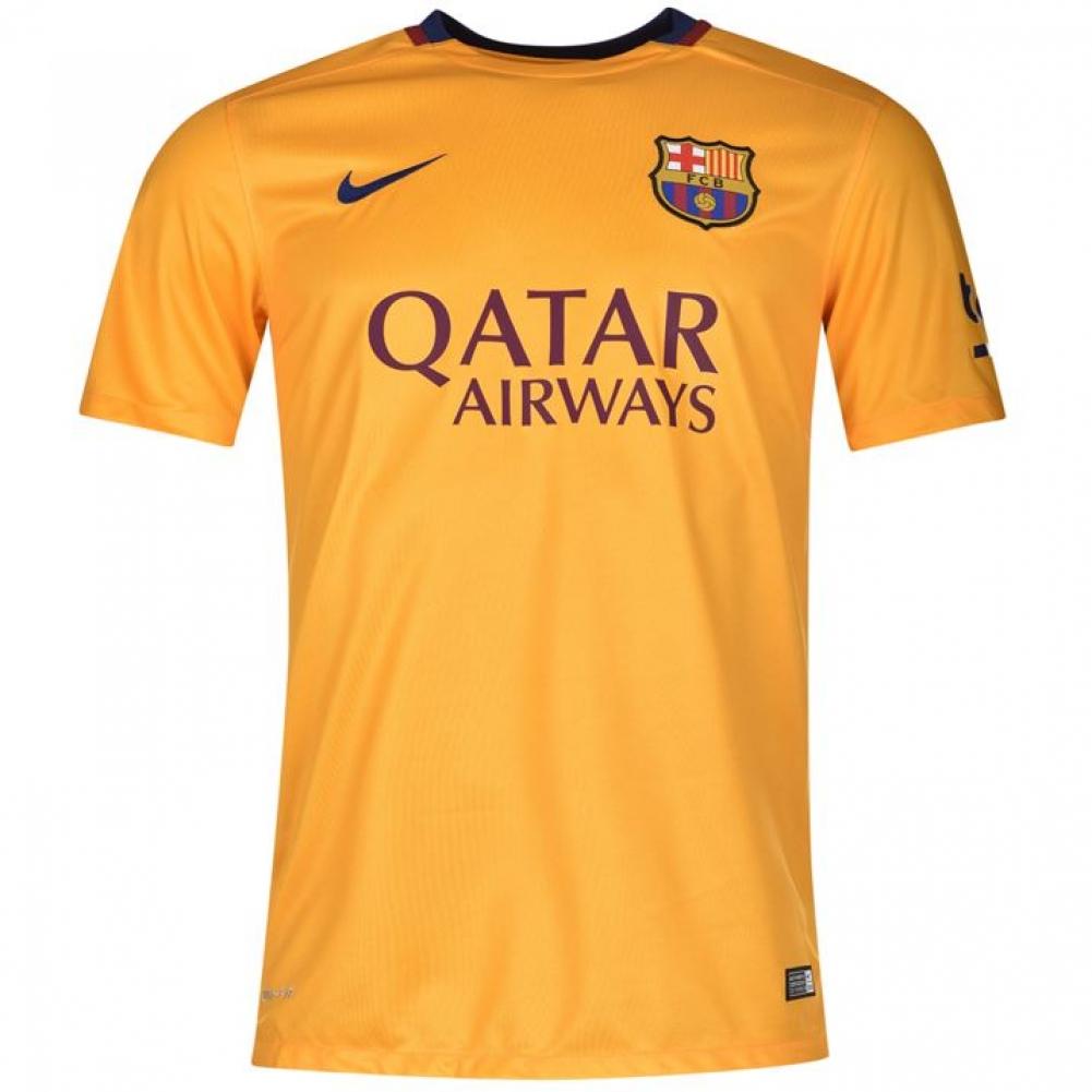 new arrival c03e3 d8e74 2015-2016 Barcelona Away Nike Shirt (Kids)