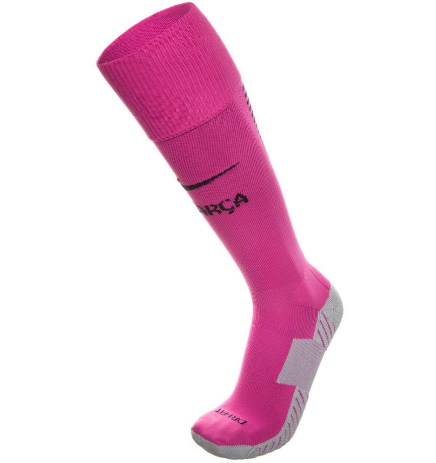 2016-2017 Barcelona Nike Away Socks (Pink)  776763-616 a1acc7c38