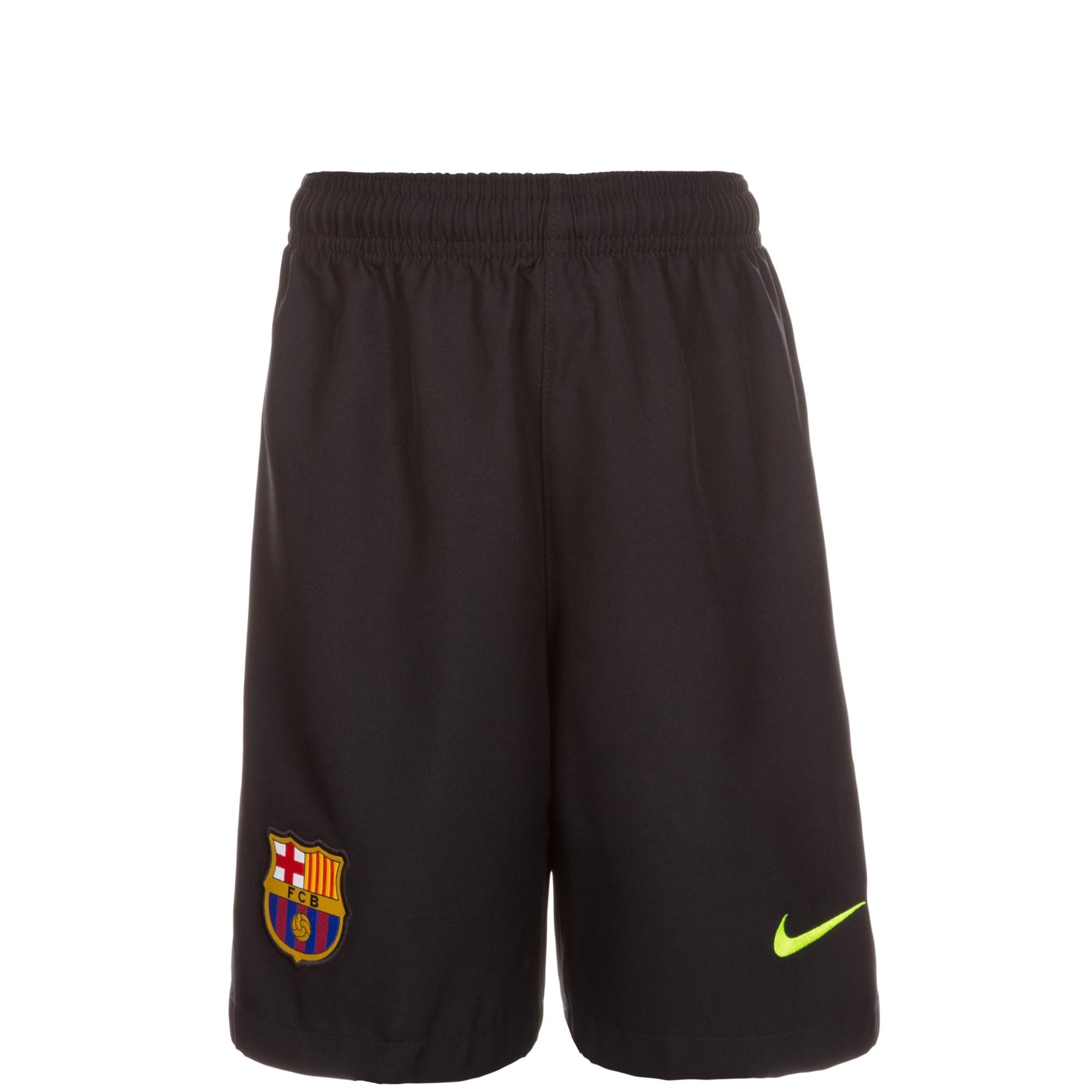 newest 37505 d9141 2016-2017 Barcelona Home Nike Goalkeeper Shorts (Black) - Kids