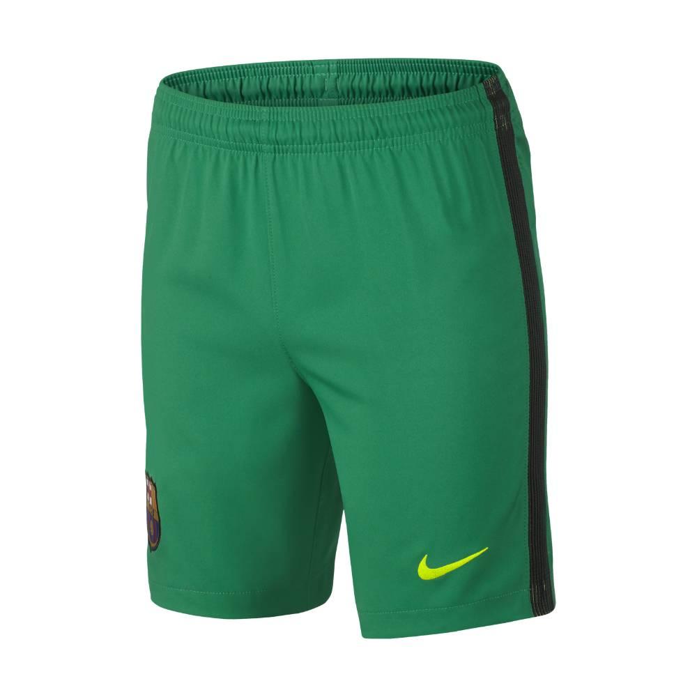 2016 2017 Barcelona Home Nike Goalkeeper Shorts (Lucid Green) Kids
