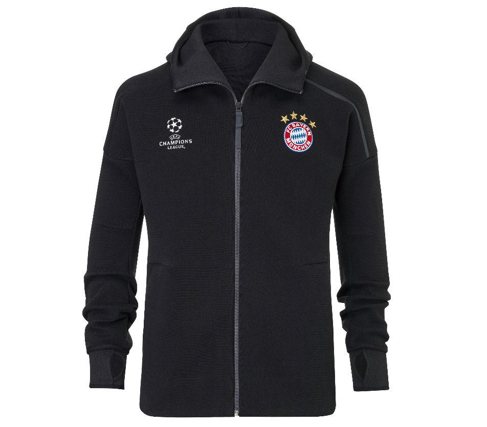 Mamá Nadie Taxi  2016-2017 Bayern Munich Adidas Anthem Jacket (Black) [AP1666] - Uksoccershop