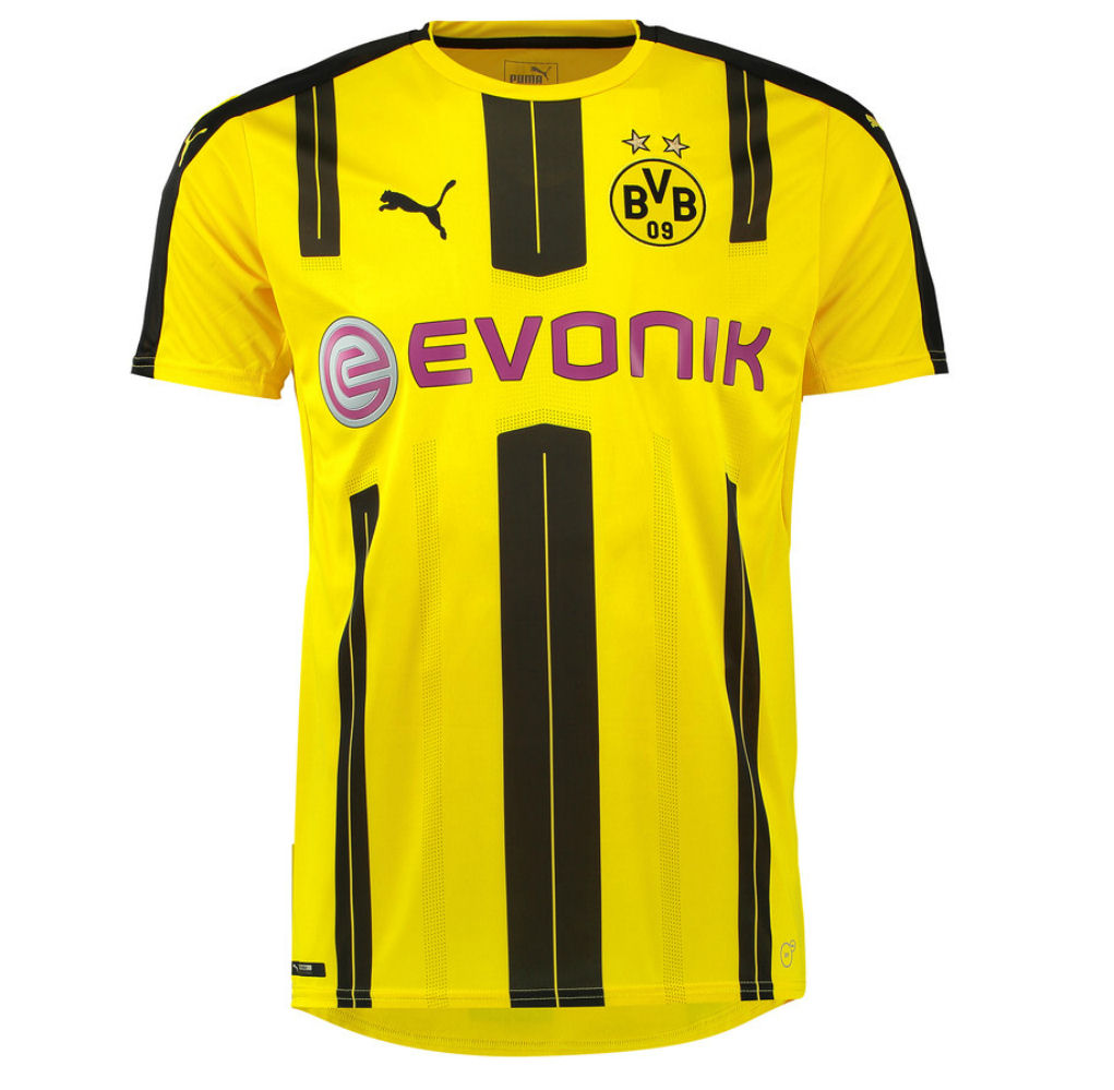 d4a56ecc746 2016-2017 Borussia Dortmund Puma Home Football Shirt (Big Sizes)   74982101P  - Uksoccershop