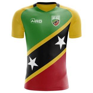2018-2019 Saint Kitts and Nevis Home Concept Football Shirt
