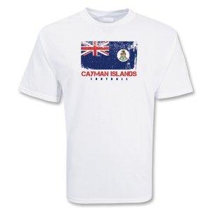 Cayman Islands Football T-shirt (white)