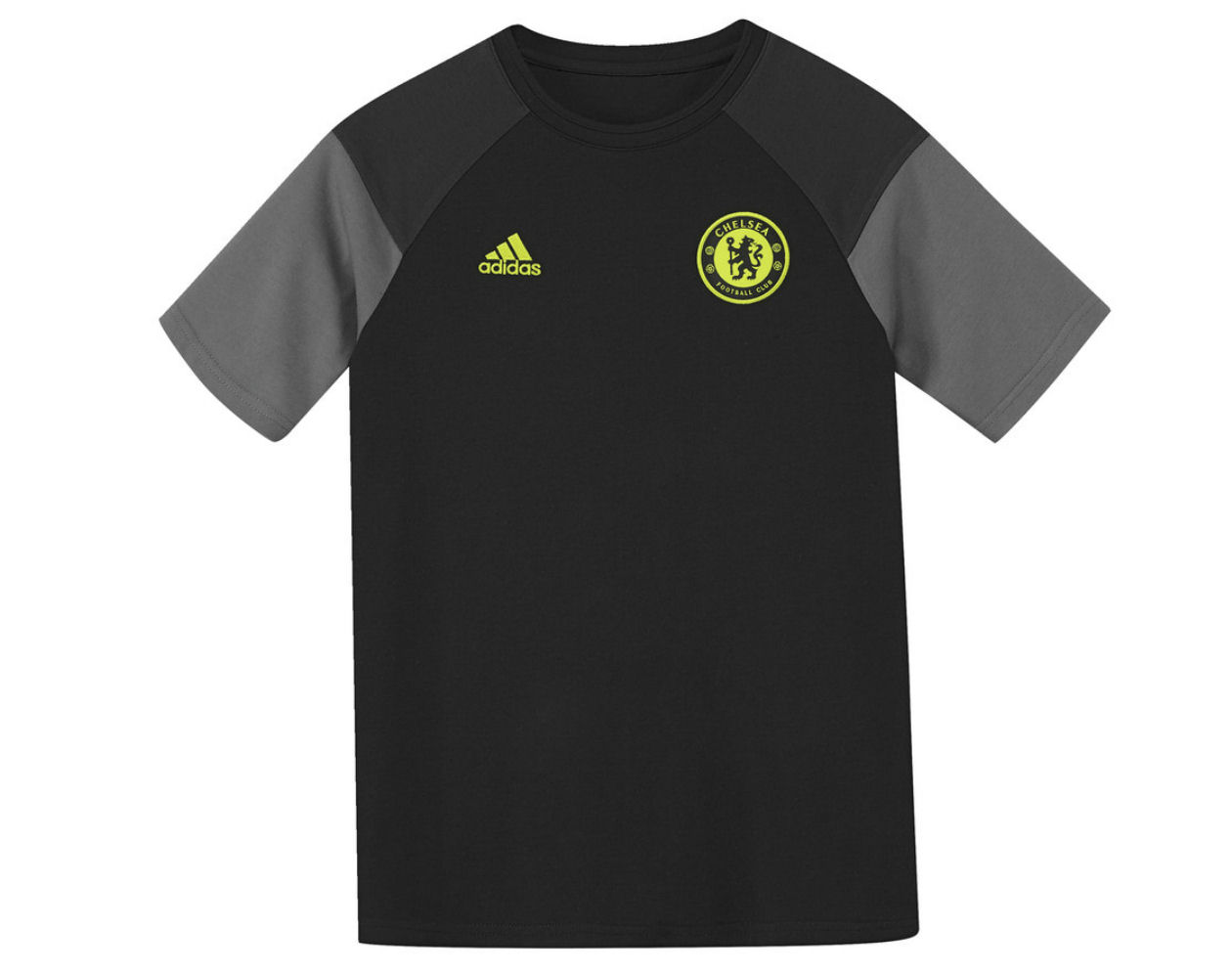 reasonably priced 100% quality another chance 2016-2017 Chelsea Adidas Training Tee (Black) - Kids