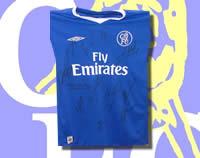 Chelsea Multi-Signed shirt 04/05