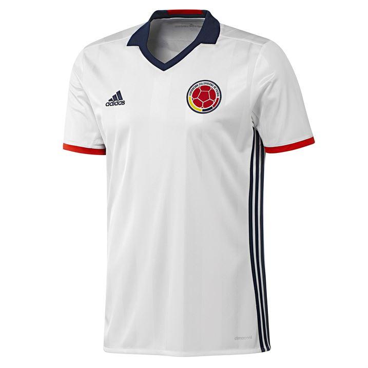 12e057d7c 2016-2017 Colombia Home Adidas Football Shirt [AC2837] - Uksoccershop