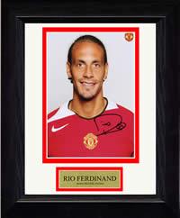 Rio Ferdinand Signed ReelPix