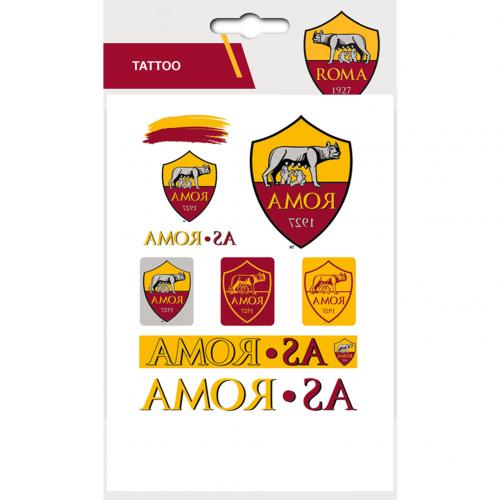 Image of A.S. Roma Tattoo Pack