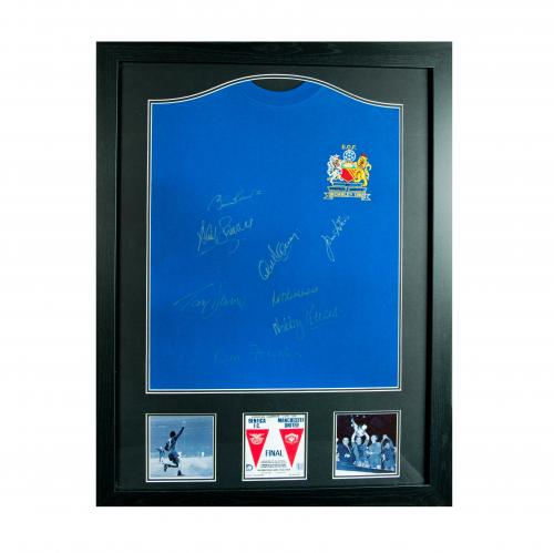 Manchester United F.C. 1968 European Cup Final Signed Shirt (Framed)