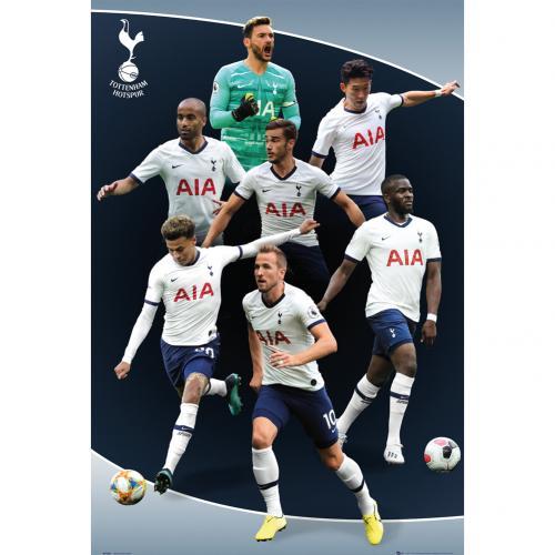 Tottenham Hotspur Fc Poster Players 5 B80postot5 Uksoccershop