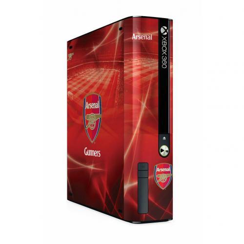 Arsenal F.C. Xbox 360 E GO Console Skin