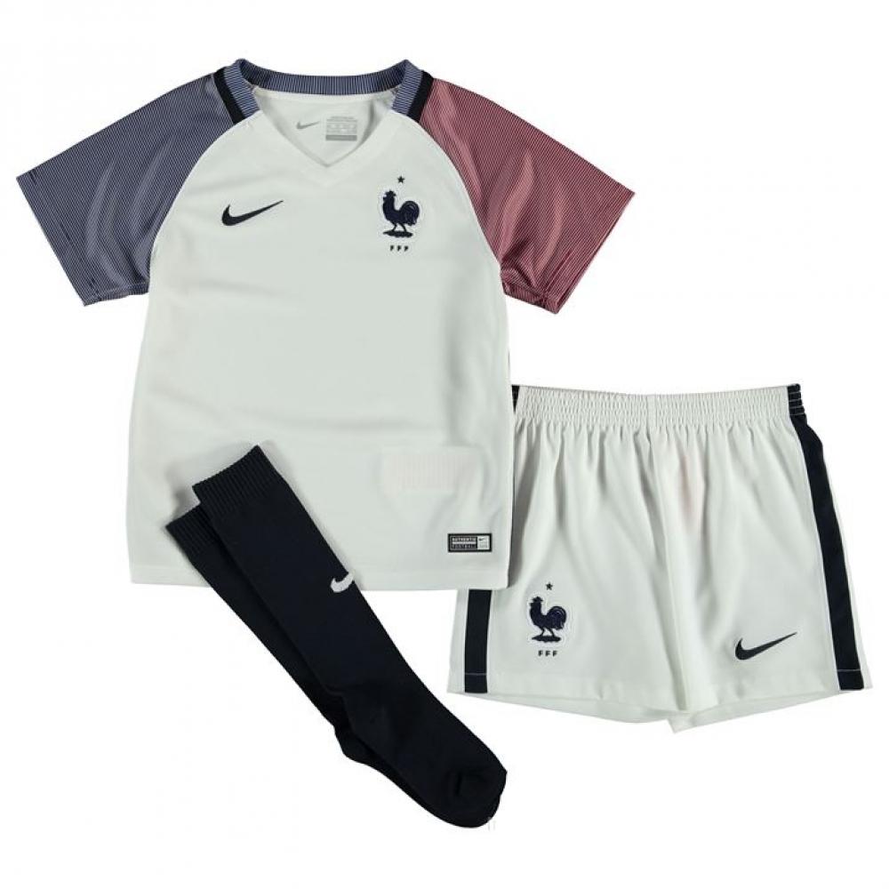 046af9a77d4 2016-2017 France Away Nike Baby Kit