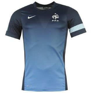 12d8f102dd98 2013-14 France Nike Training Jersey (Blue)  518645-415  - Uksoccershop