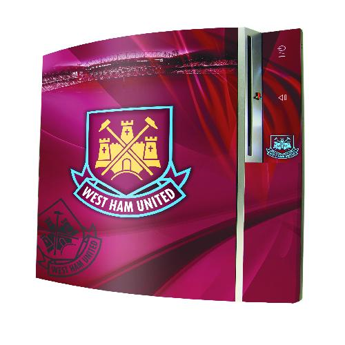 Official West Ham PS3 Controller Skin