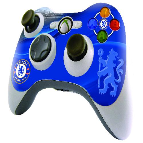 Official Chelsea Xbox 360 Controller Skin 50867 Xboxskincfc Uksoccershop