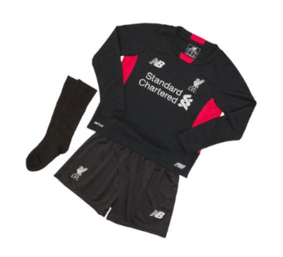 20152016 Liverpool Home Goalkeeper Mini Kit