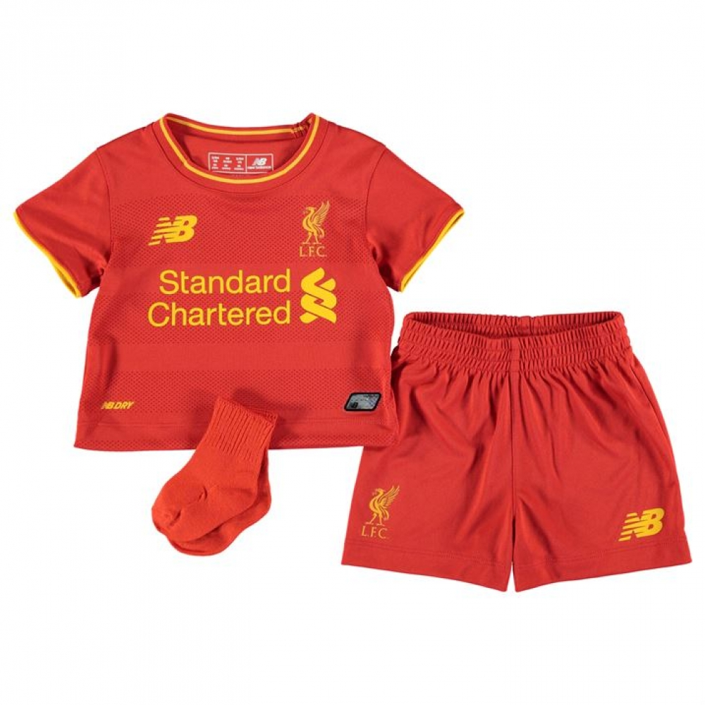 876e4166 2016-2017 Liverpool Home Baby Kit [BY630001] - Uksoccershop