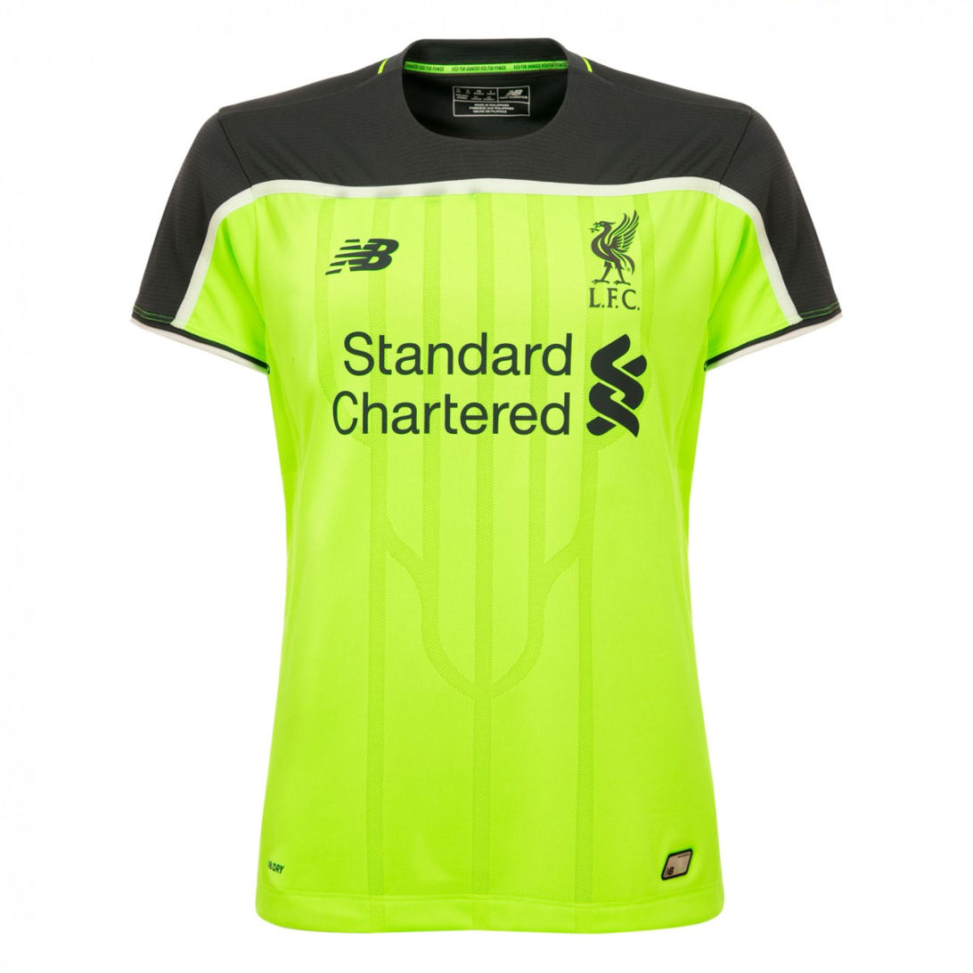 huge selection of 21099 89146 New Balance Liverpool Womens SS Third Shirt 2016/17