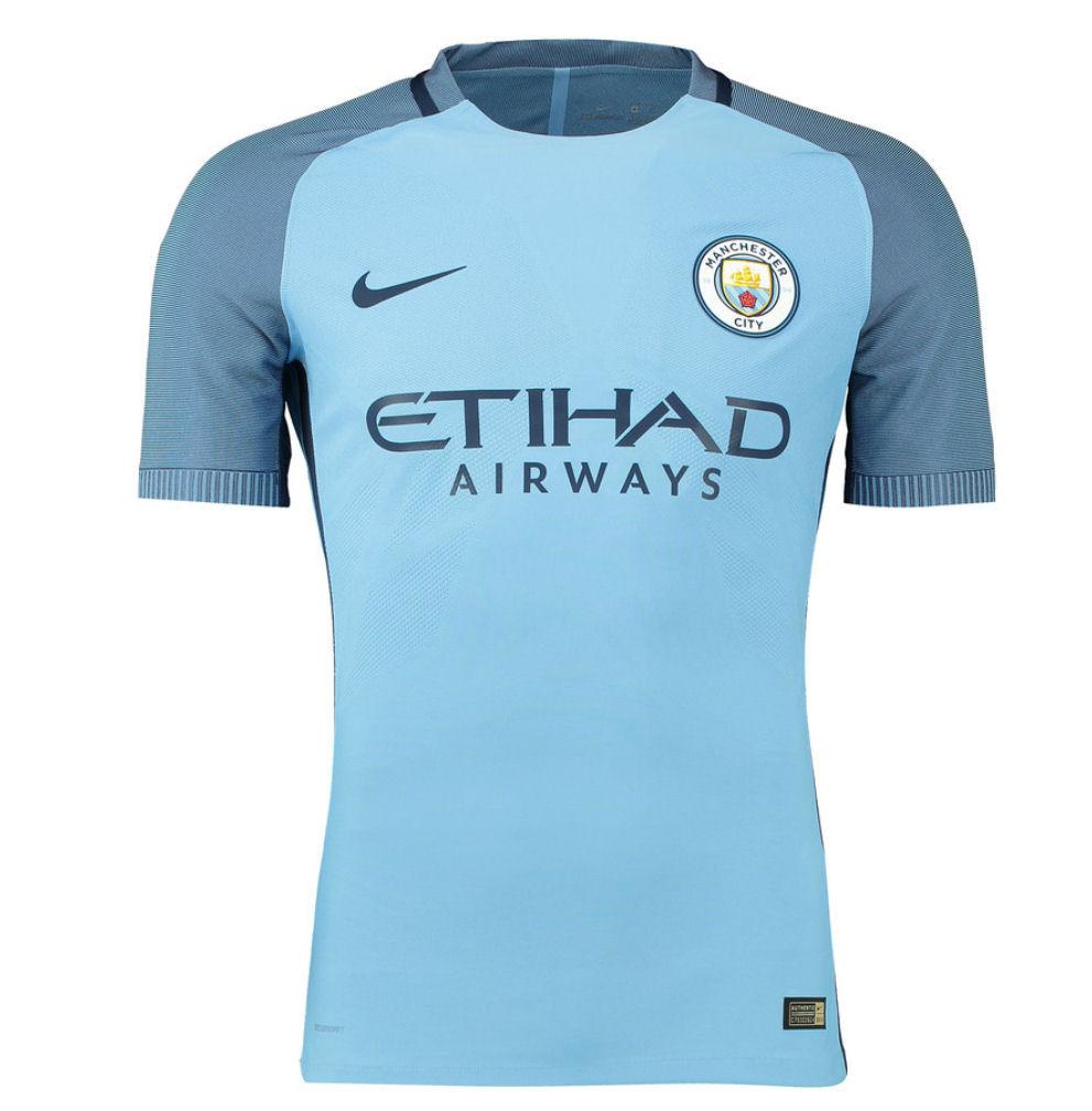 8142e76a 2016-2017 Man City Nike Vapor Home Match Shirt [776905-489] - Uksoccershop