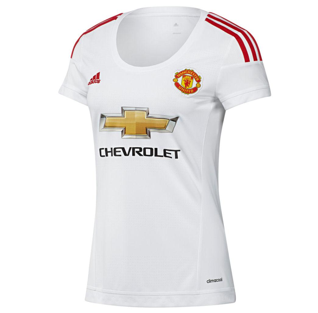 2015 2016 Man Utd Adidas Womens Away Shirt