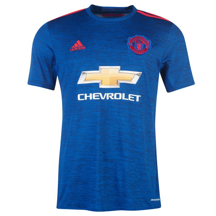 11a8c66e6 2016-2017 Man Utd Adidas Away Football Shirt (Kids)  AI6701  - Uksoccershop