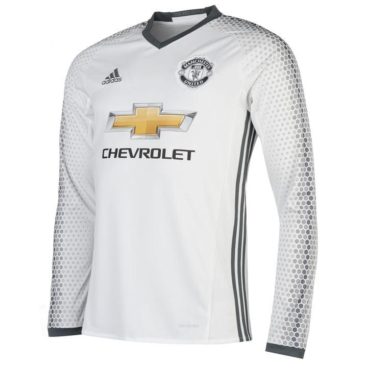 deef4e32cbe 2016-2017 Man Utd Adidas Third Long Sleeve Shirt  AI6689  - Uksoccershop