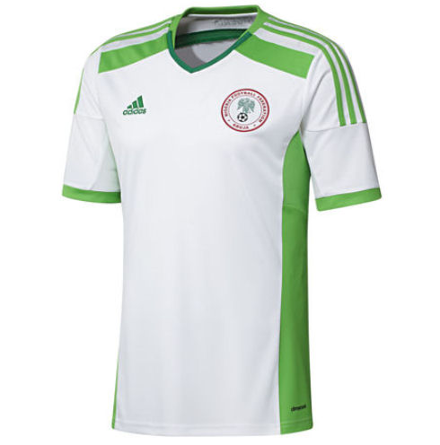 quality design f3c0a 5ddf3 2014-15 Nigeria Away World Cup Football Shirt