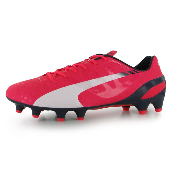 Puma evoSpeed 1.3 FG Mens Football Boots (Plasma)