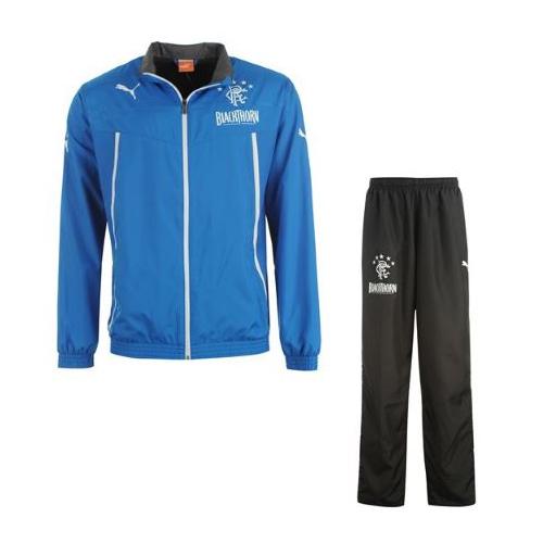 2013-14 Rangers Puma Woven Tracksuit (Blue)