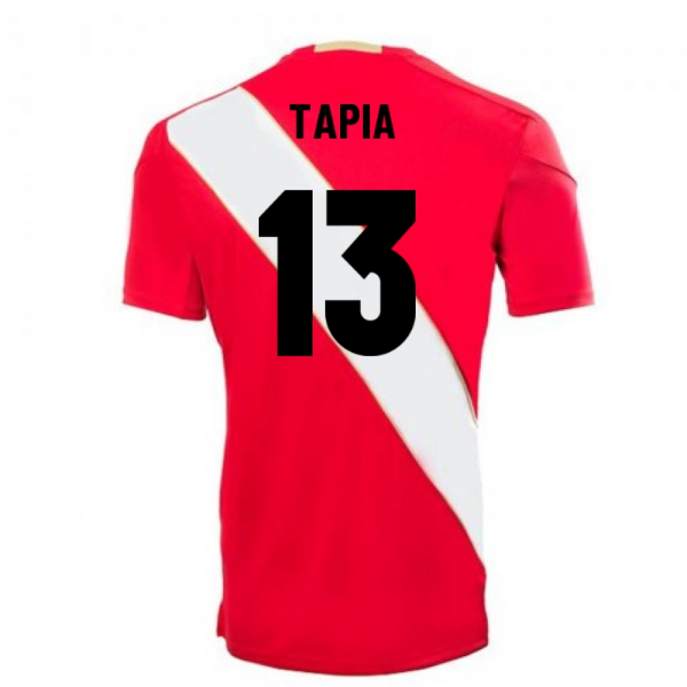 2018-2019 Peru Away Umbro Football Shirt (Tapia 13)