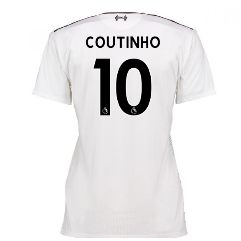 2016-17 Liverpool Away Womens Shirt (Coutinho 10)