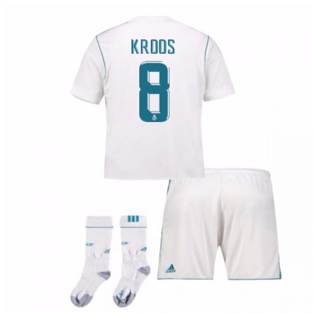 2017-17 Real Madrid Home Full Kit (Kroos 8)