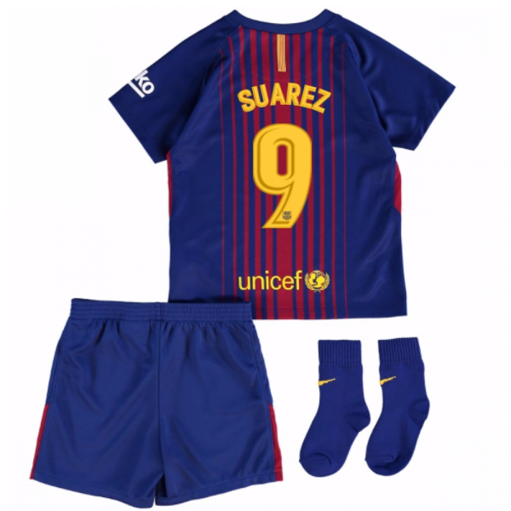 25a99bdf3 İndir (1000x1375) · 2017 18 Barcelona Home Baby Kit Suarez 9 - Sports and  Exercise - FlexYourPlastic