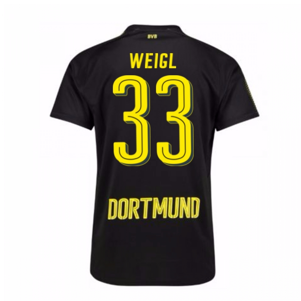 Click to view product details and reviews for 2017 18 Borussia Dortmund Away Shirt Weigl 33.