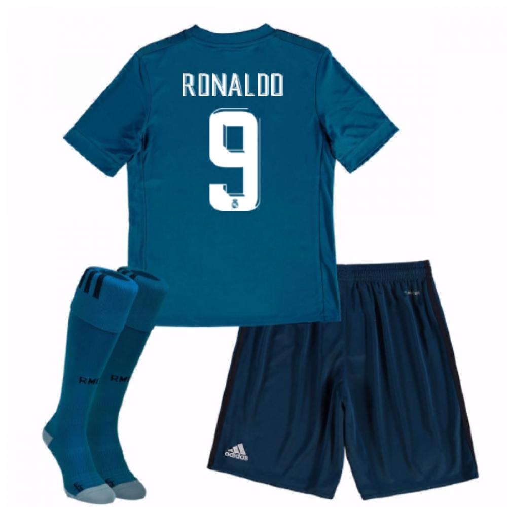 Daftar Harga 2017 18 Real Madrid Away Kit Ronaldo 9 B31094 Termurah ... 54eface69