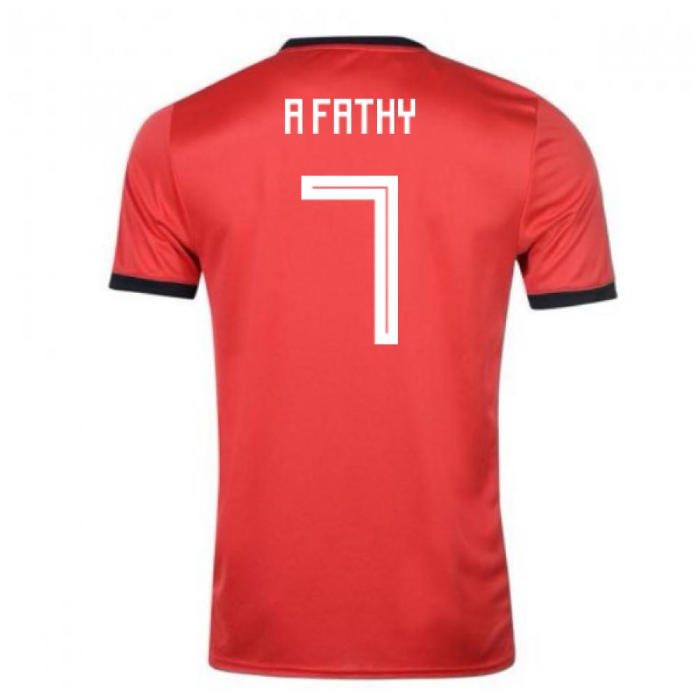 2018-19 Egypt Adidas Home Shirt (A Fathy 7)