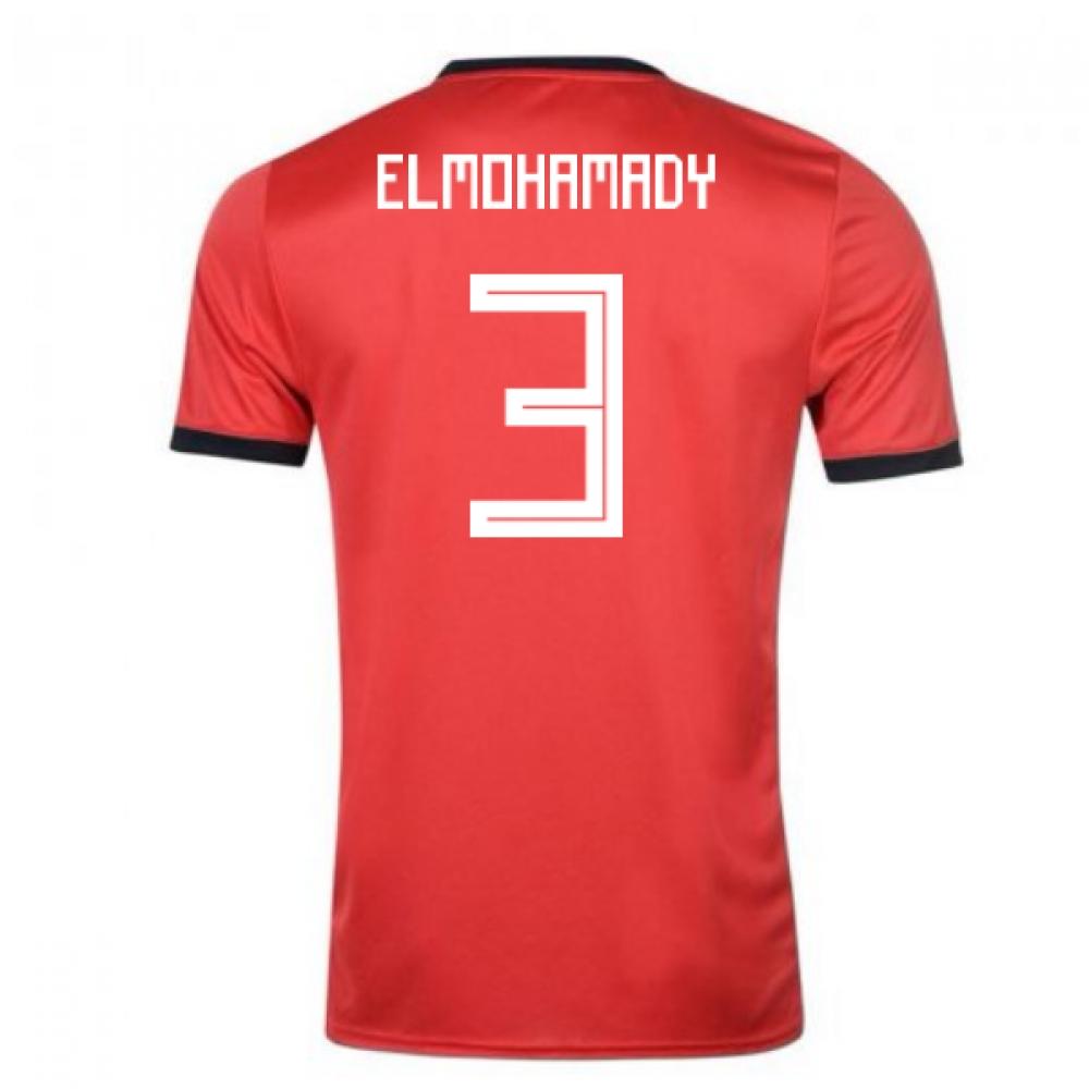 2018-19 Egypt Adidas Home Shirt (ElMohamady 3)