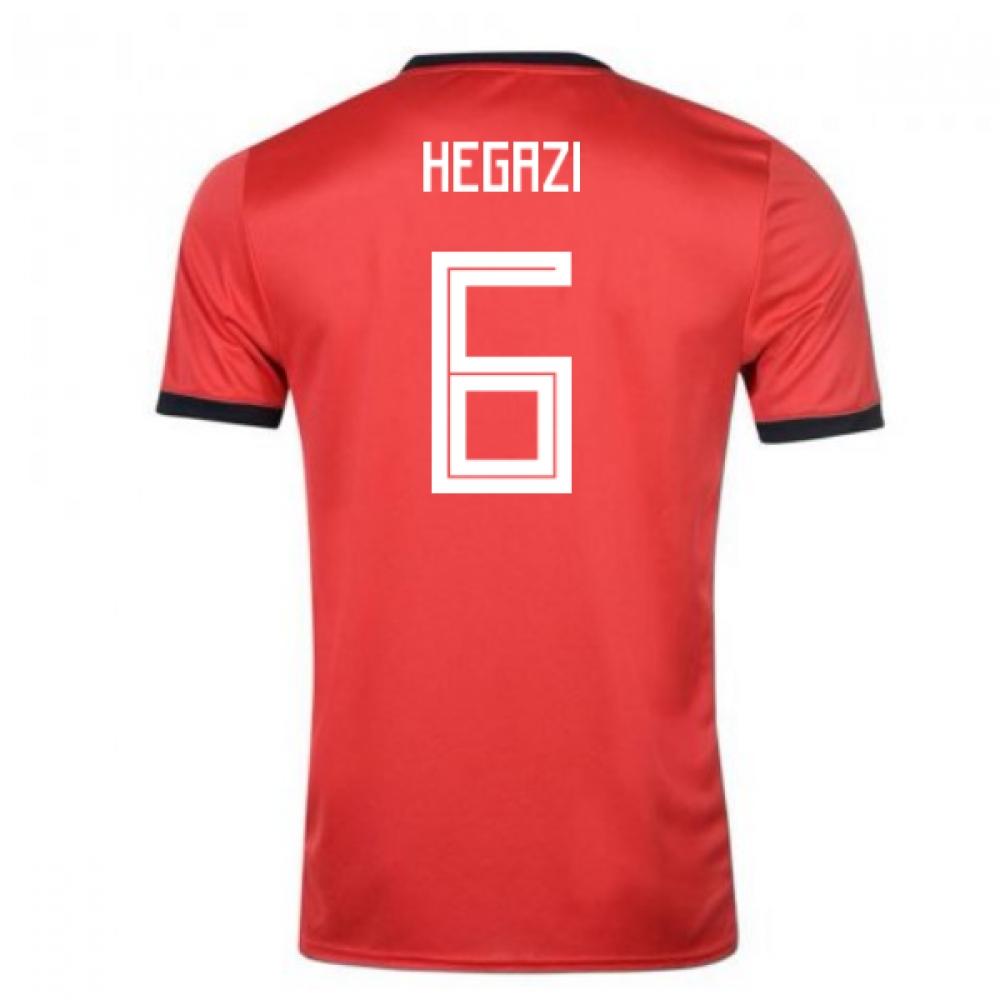 2018-19 Egypt Adidas Home Shirt (Hegazi 6)