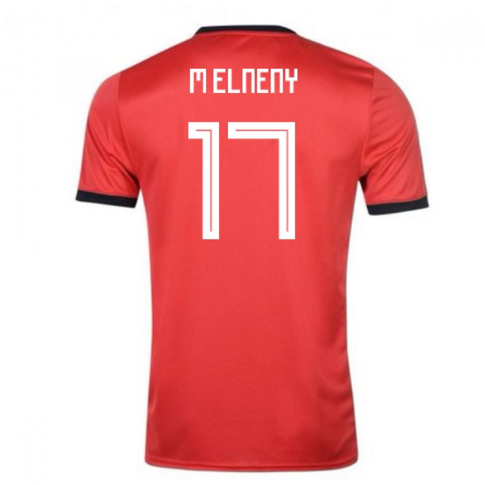 2018-19 Egypt Adidas Home Shirt (M Elneny 17)