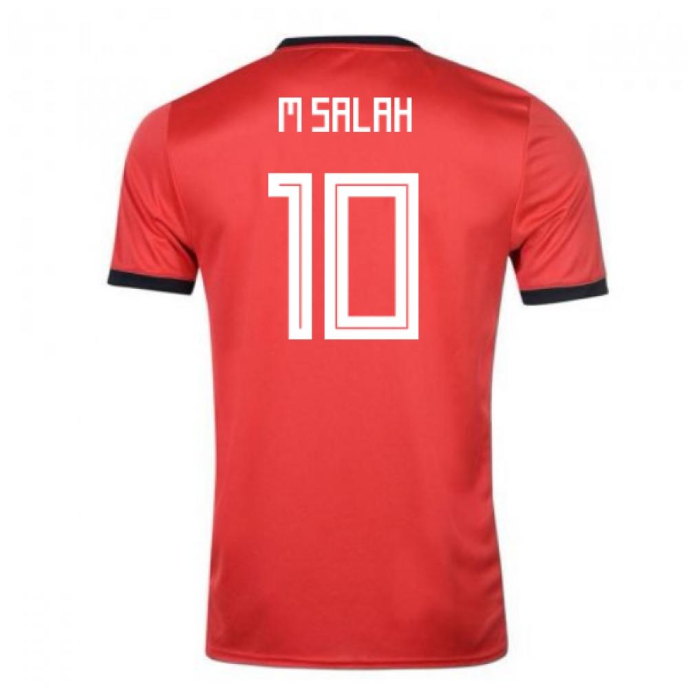 2018-19 Egypt Adidas Home Shirt (M Salah 10)