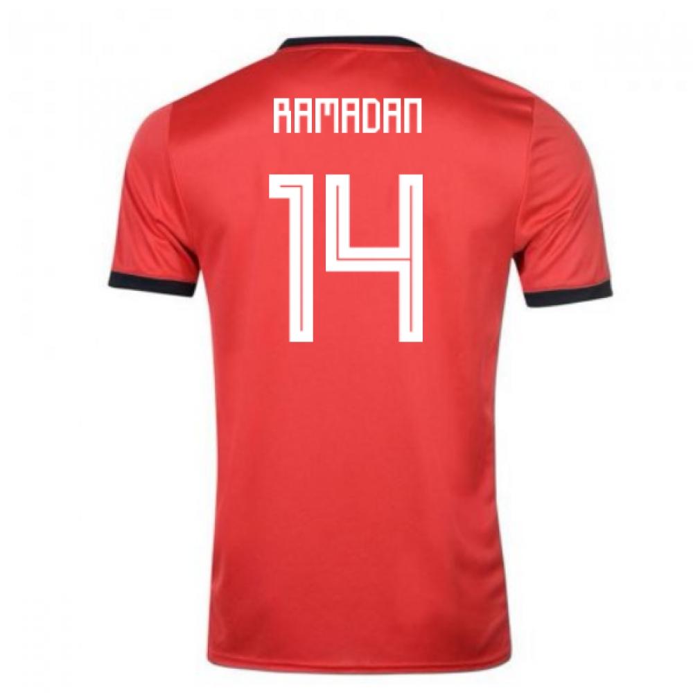 2018-19 Egypt Adidas Home Shirt (Ramadan 14)