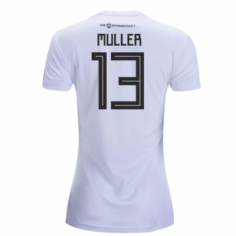 2018-19 Germany Home Womens Shirt (Muller 13)