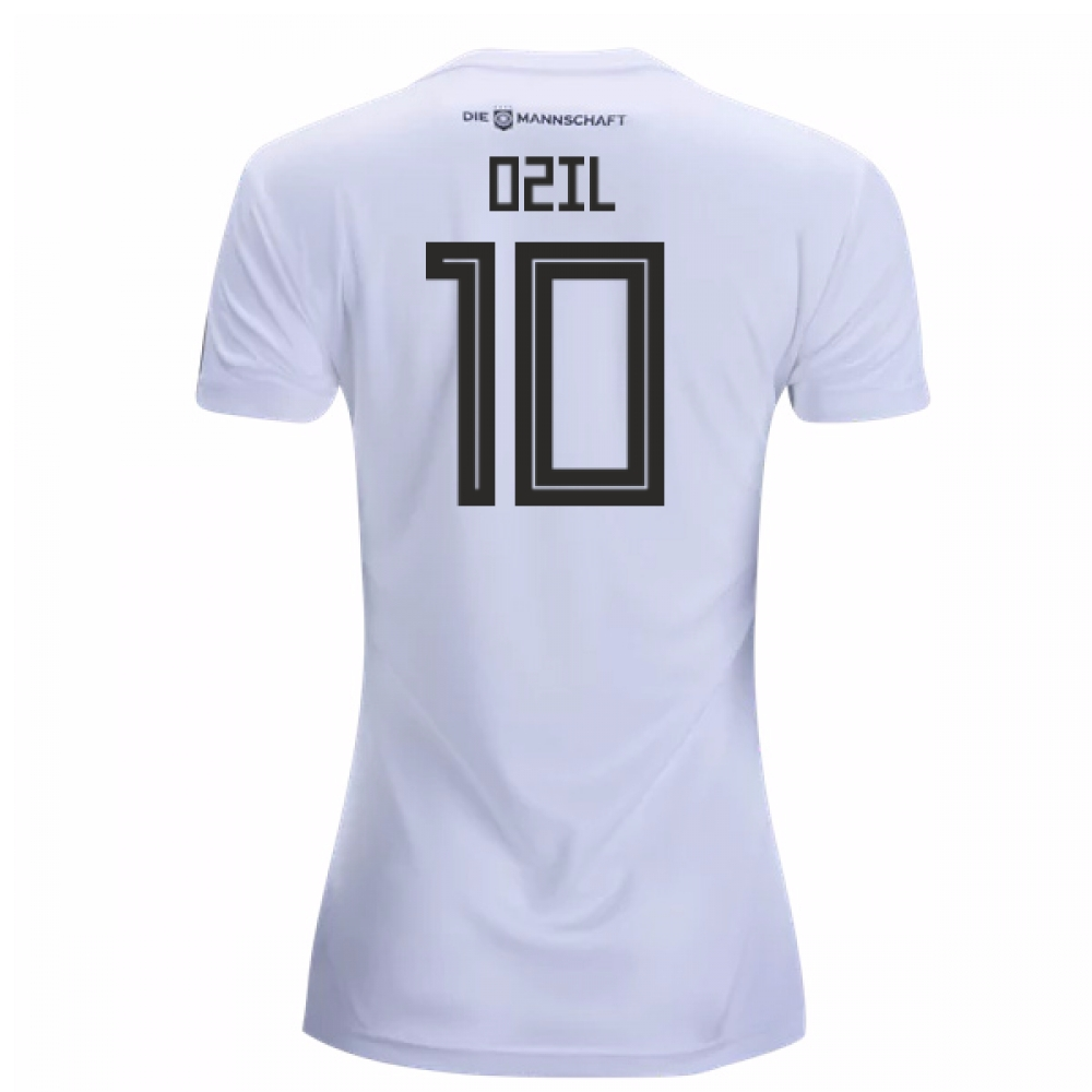 2018-19 Germany Home Womens Shirt (Ozil 10)