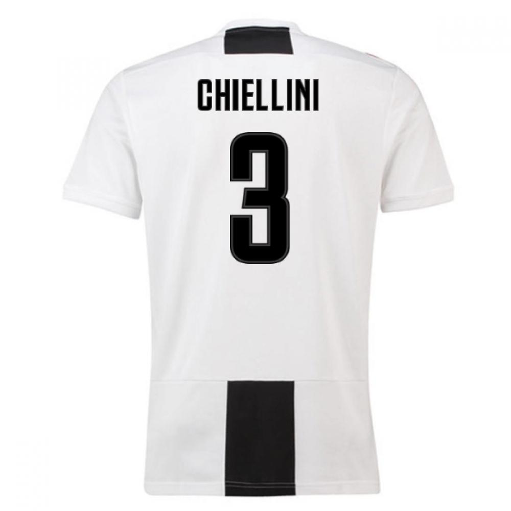 2018-19 Juventus Home Shirt (Chiellini 3) – Kids