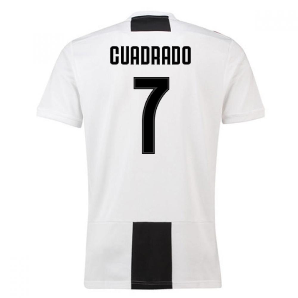 2018-19 Juventus Home Shirt (Cuadrado 7) – Kids